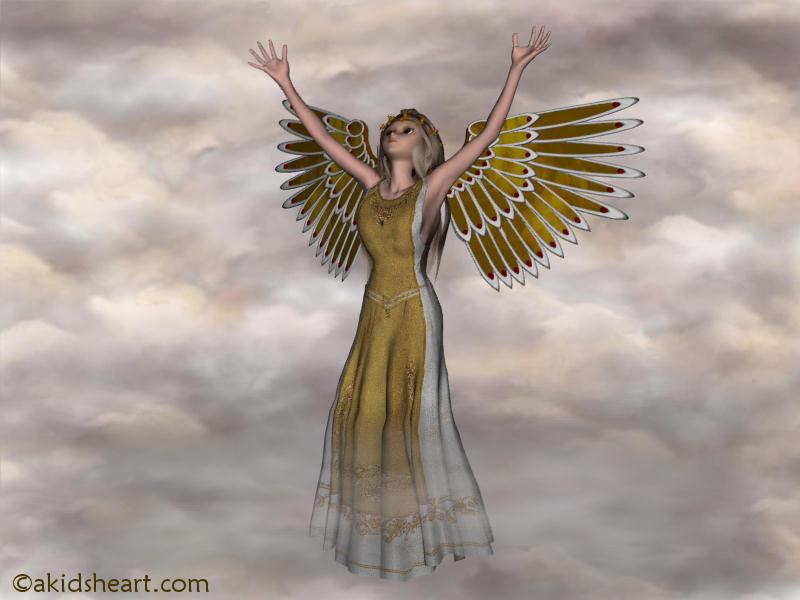 Angels Desktop 800x600