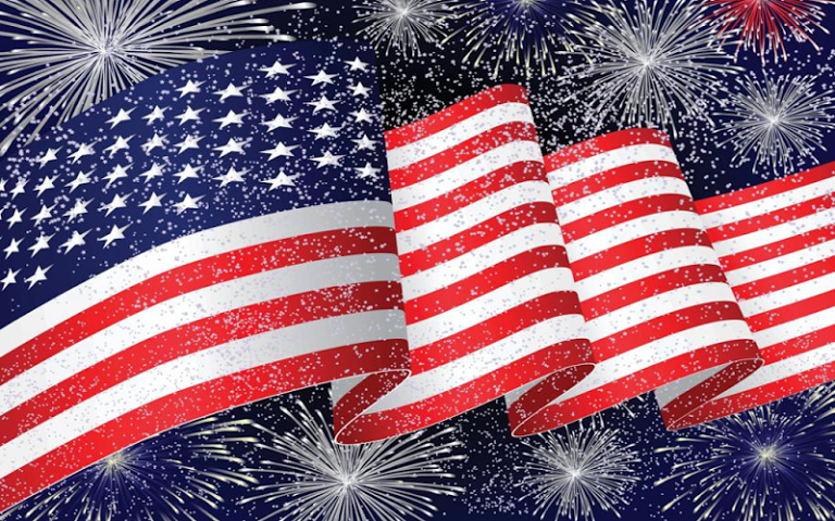 USA flag Live Wallpaper is the best app backgound for your phone 768x480