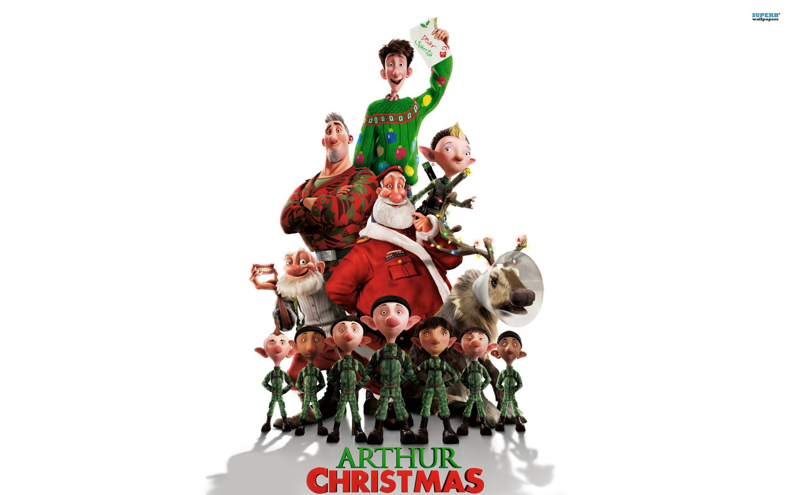 Best 46 Arthur Christmas Wallpaper on HipWallpaper Christmas 2560x1600