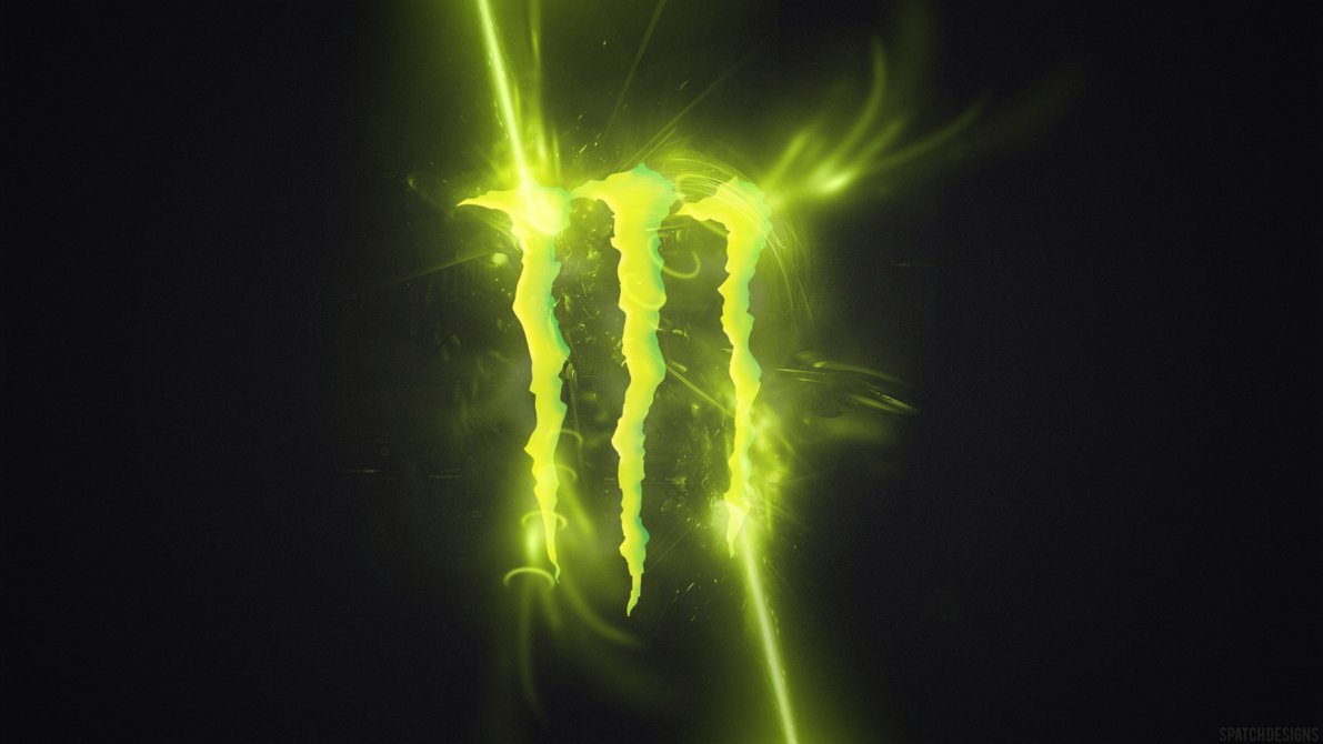 Monster Energy by SpatchDesigns 1191x670