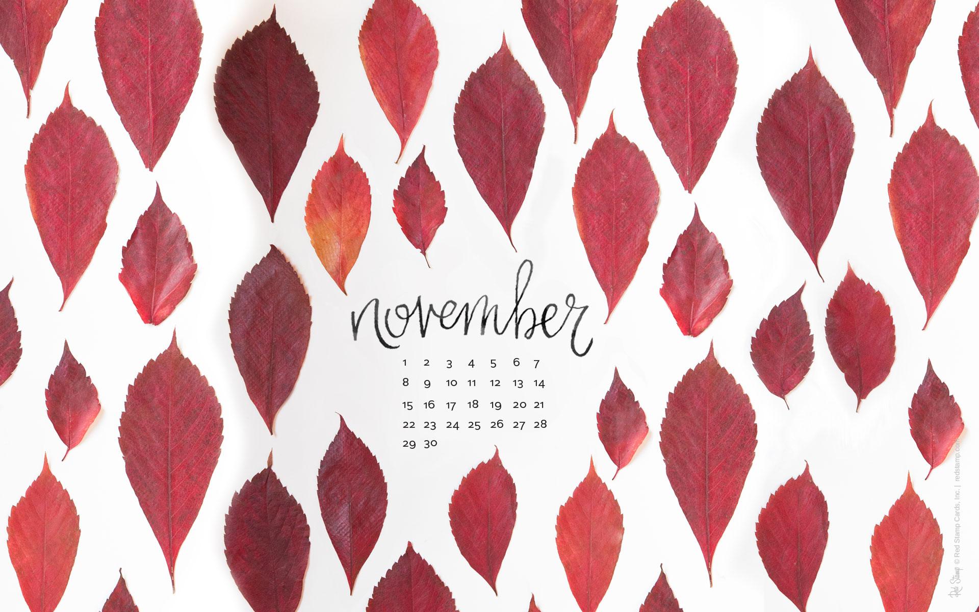 November 2015 Free Calendars and Wallpaper