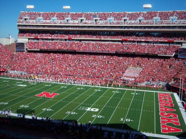 nebraska football stadium MEMEs 720x540