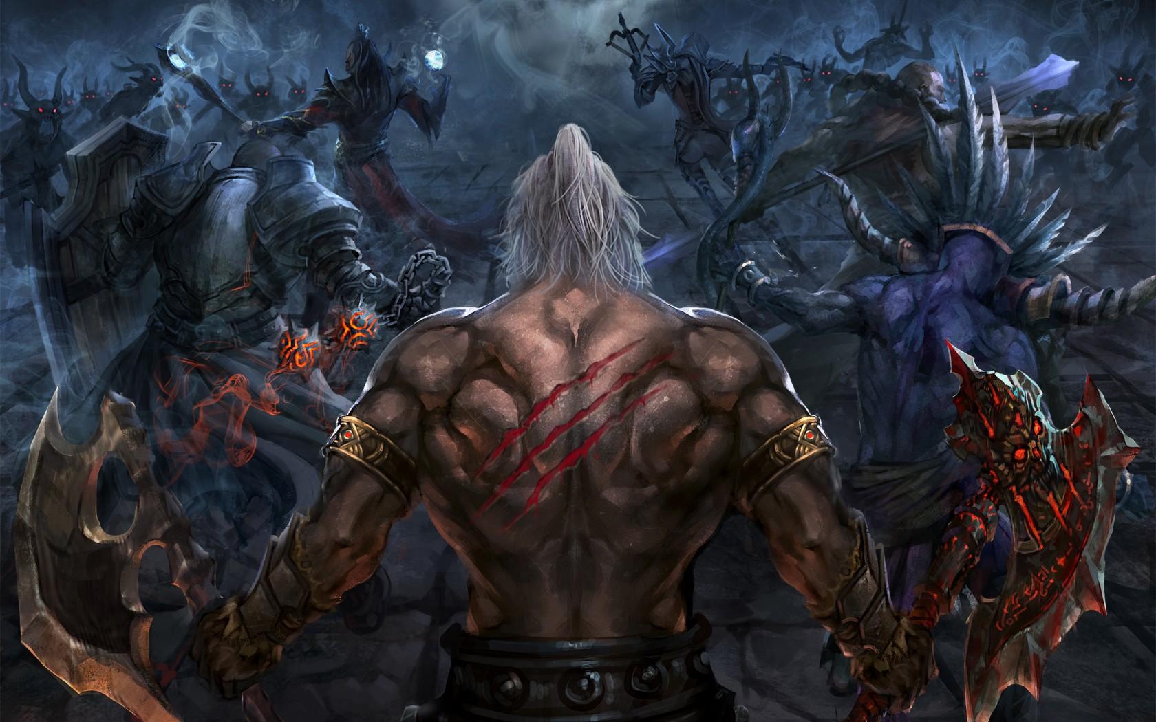 Diablo 3 Barbarian Wallpaper 1680x1050