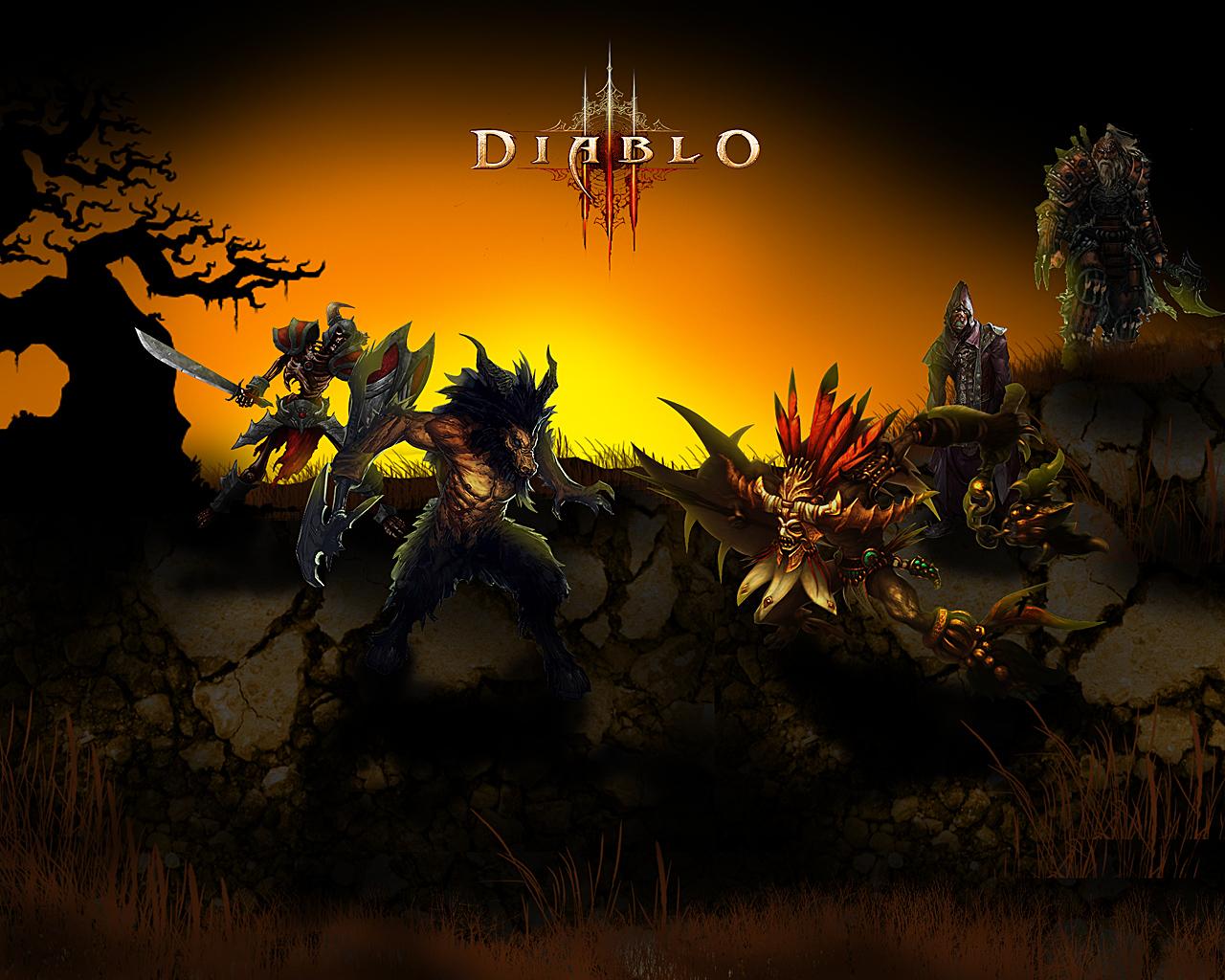 Diablo 3 wallpapers HD   Desktop backgrounds 1280x1024