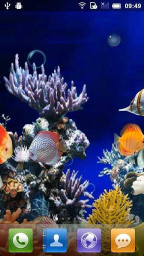 3D aquarium live wallpaper HD 105   Android Games download 288x512