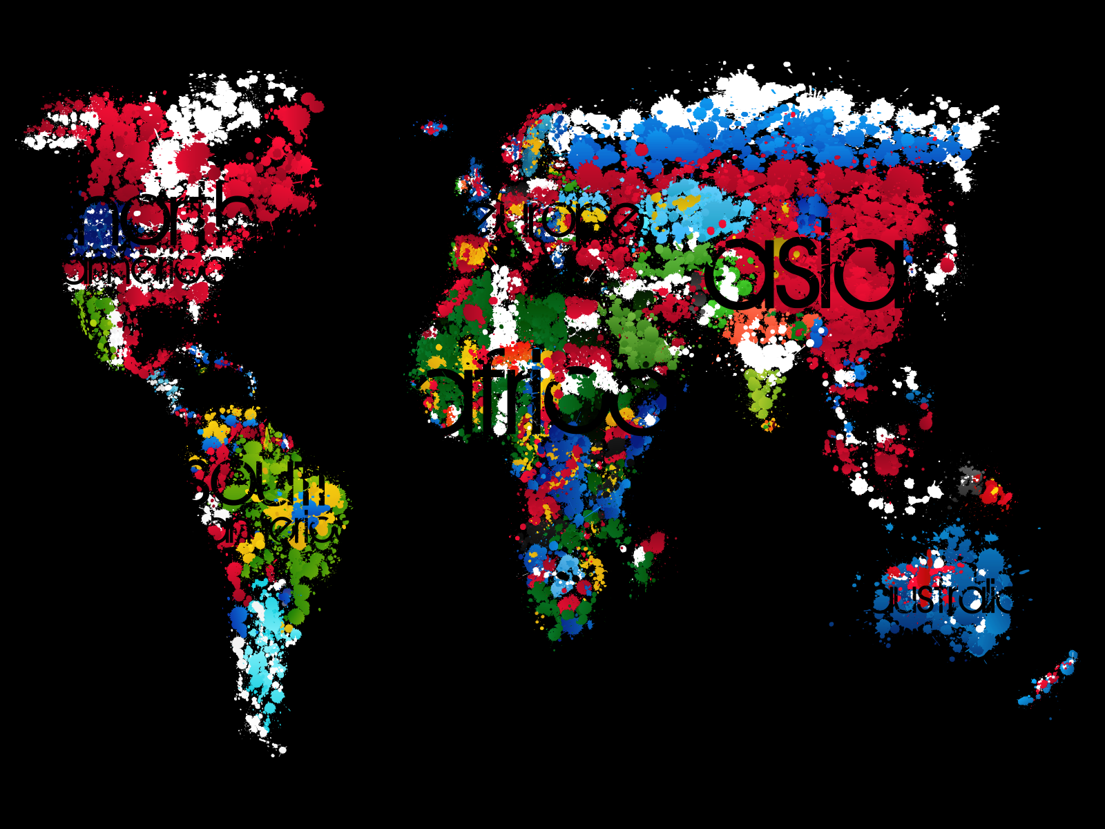 15 Really Cool World Map Wallpapers 1600x1200