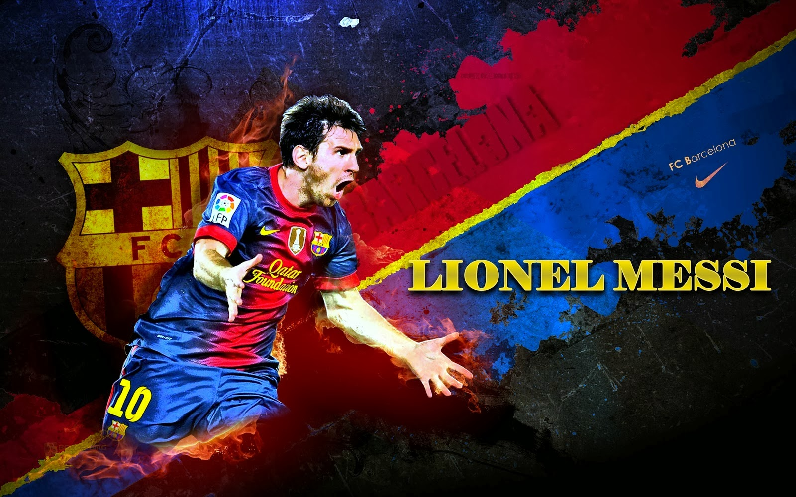 Lionel Messi HQ Wallpapers 2014 2015 1600x1000