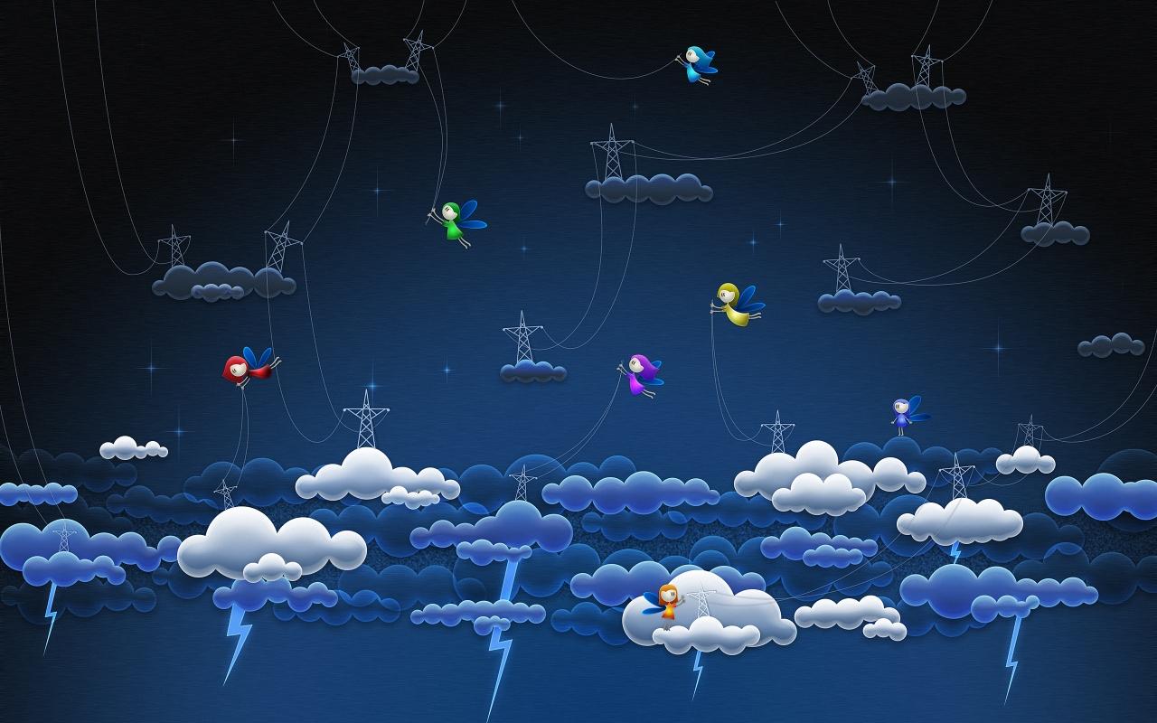 Genius in air Mac Wallpaper Download Mac Wallpapers Download 1280x800