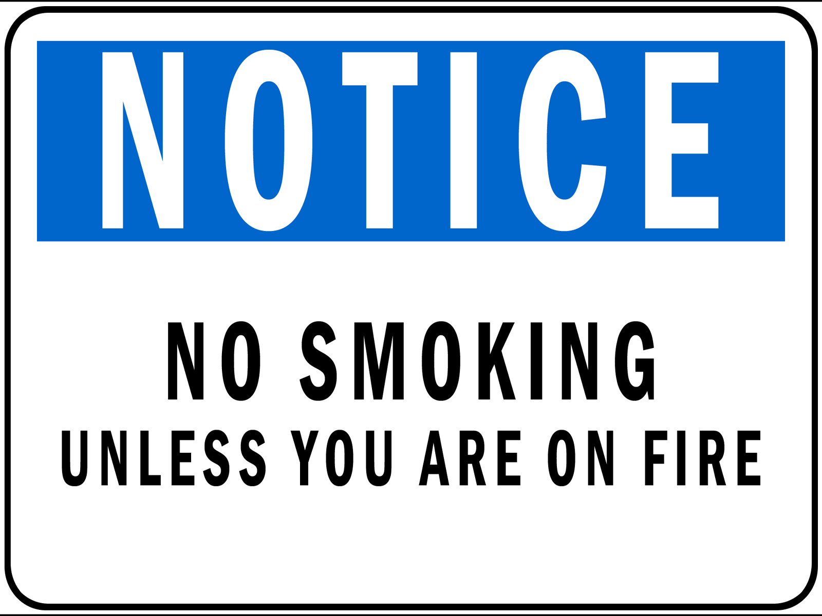 No Smoking Funny Wallpaper   Background Bandit 1600x1200