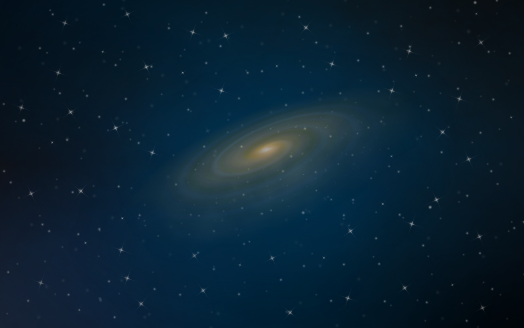 Space Galaxy Blue Wallpaper Desktop and mobile wallpaper Wallippo 1024x640