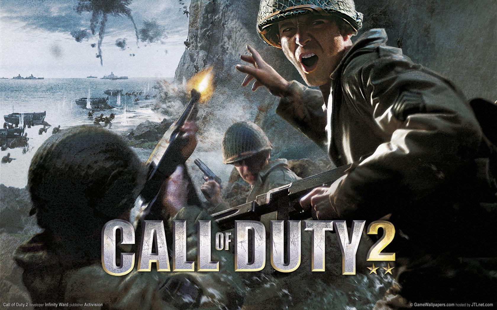 1680x1050 Call of Duty 2 desktop PC and Mac wallpaper 1680x1050