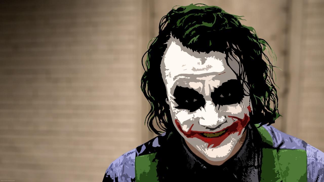 Heath Ledger Joker Wallpaper HD - WallpaperSafari