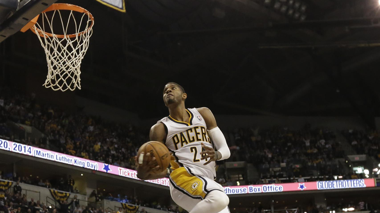 Paul george 360 dunk wallpaper 2018 images pictures paul george dunk wallpaper wallpapersafari paul george 360 dunk wallpaper voltagebd Gallery
