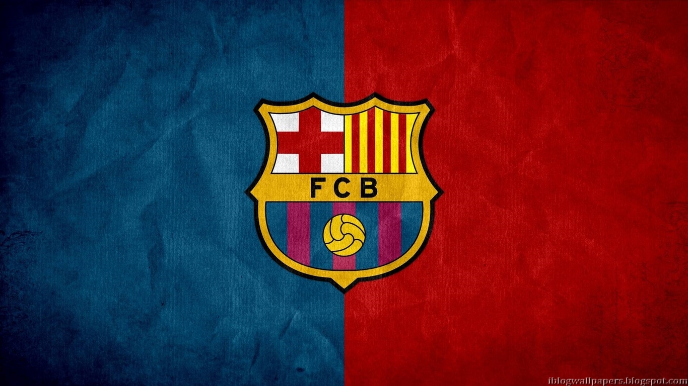 FC Barcelona Logo Wallpapers New Collection 4 Download 1366x768