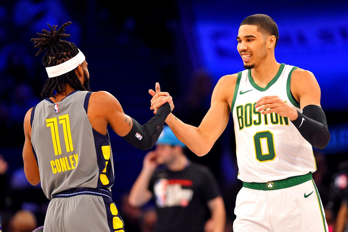 NBA Skills Challenge 2019 results Jayson Tatum won on A DANG 1200x800
