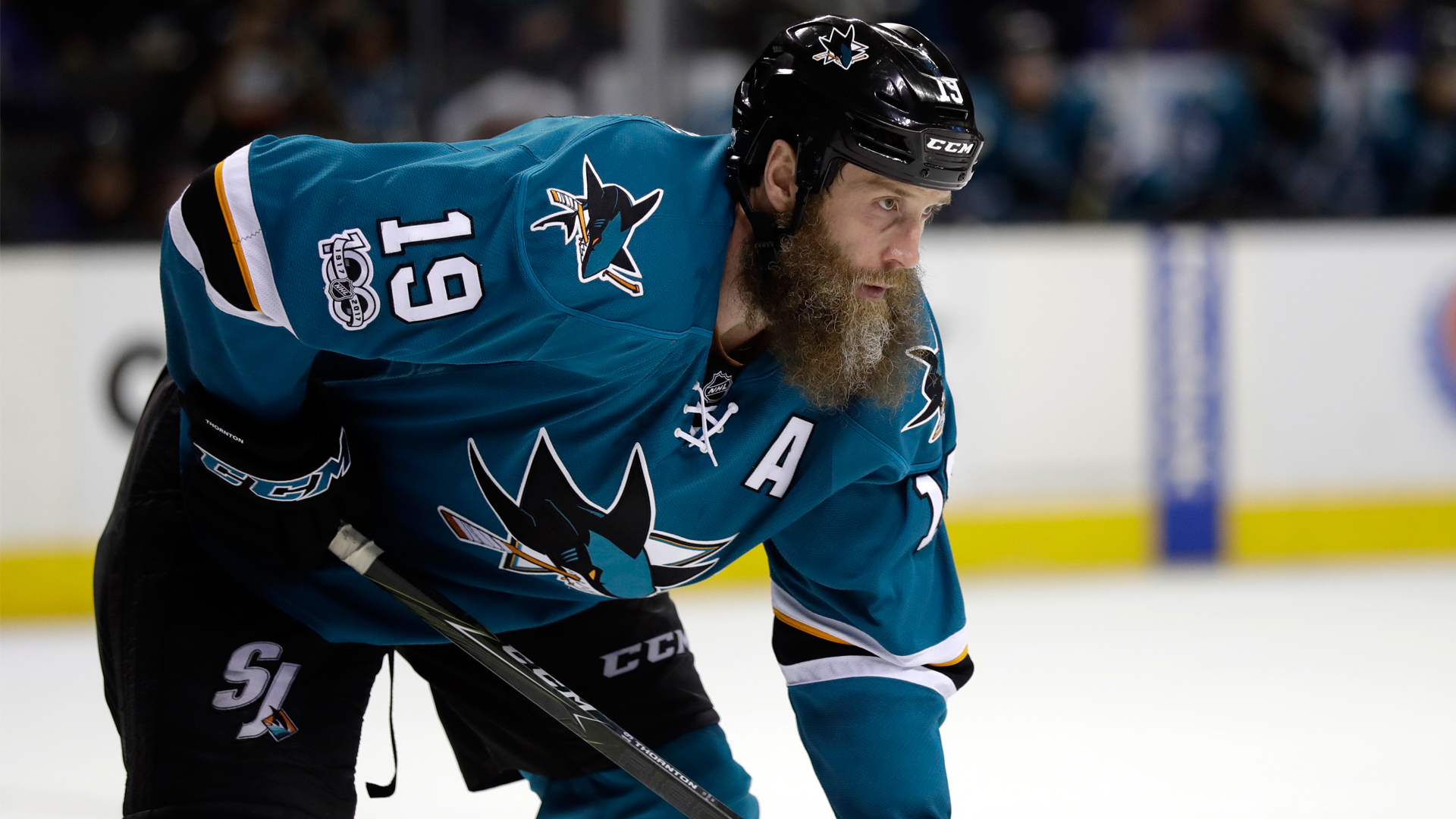 DeBoer Joe Thornton played through torn knee ligaments in 1920x1080