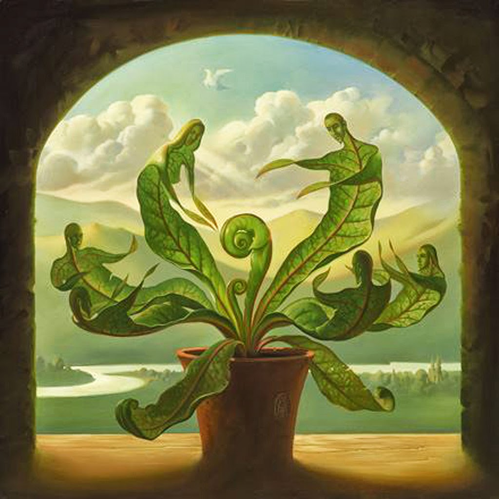 ALL HD IMAGES Vladimir Kush Paintings Wallpapers 1024x1024