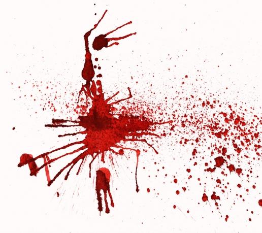 dexter blood splatter poster - photo #19