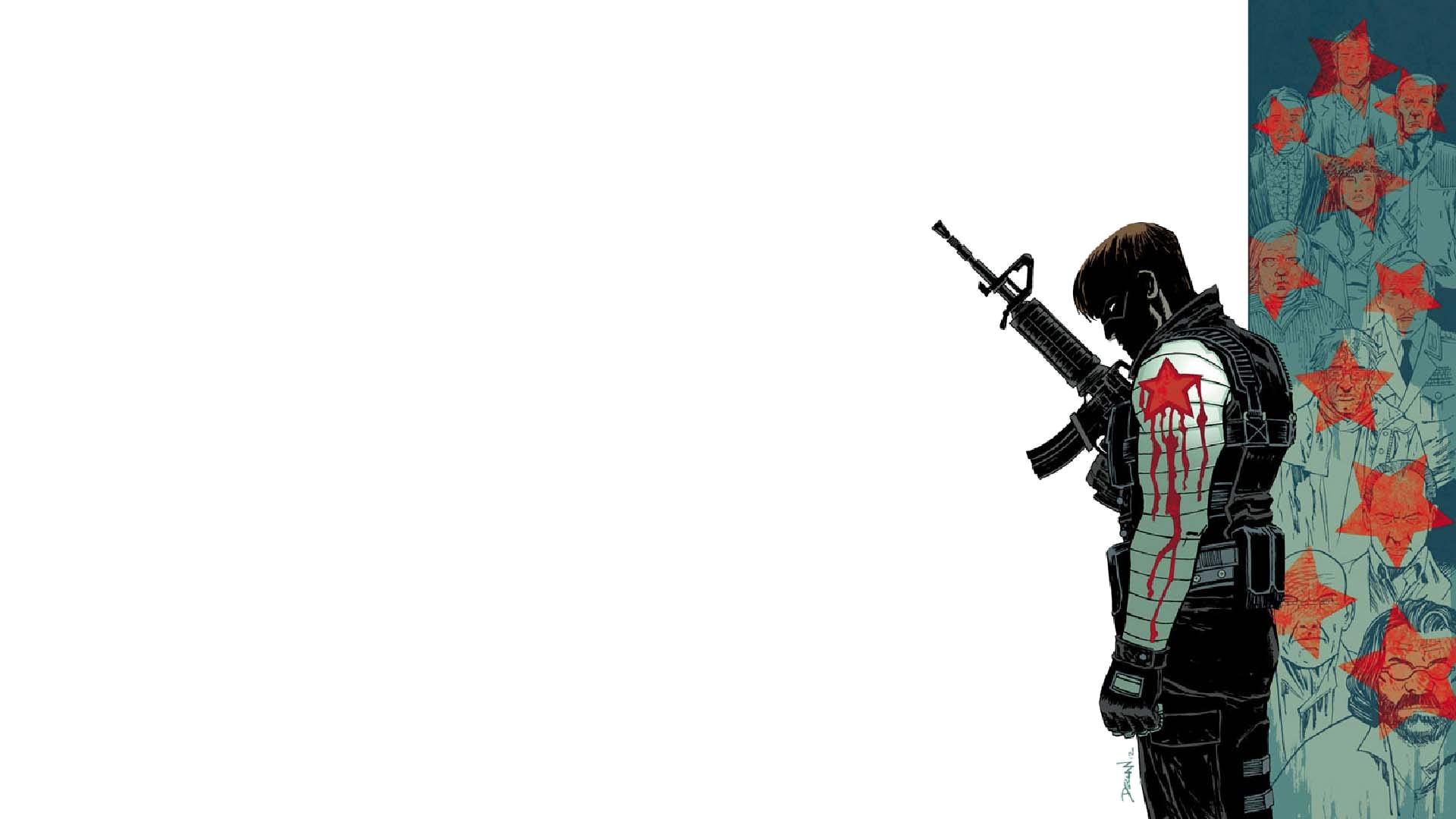 Winter Soldier Computer Wallpapers Desktop Backgrounds 1920x1080 1920x1080