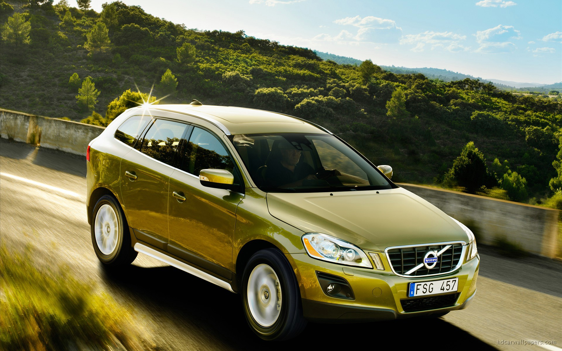 Volvo XC60 2009 Wallpaper HD Car Wallpapers 1920x1200