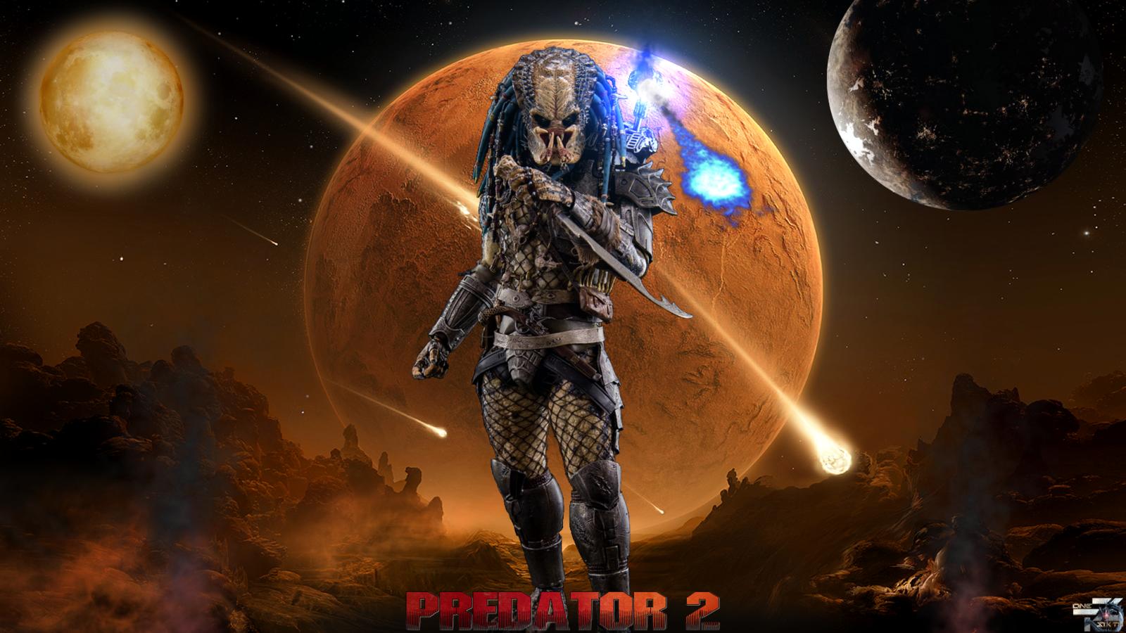 Predator 2 Elder Predator Hot Toys HD Wallpaper by 1600x900