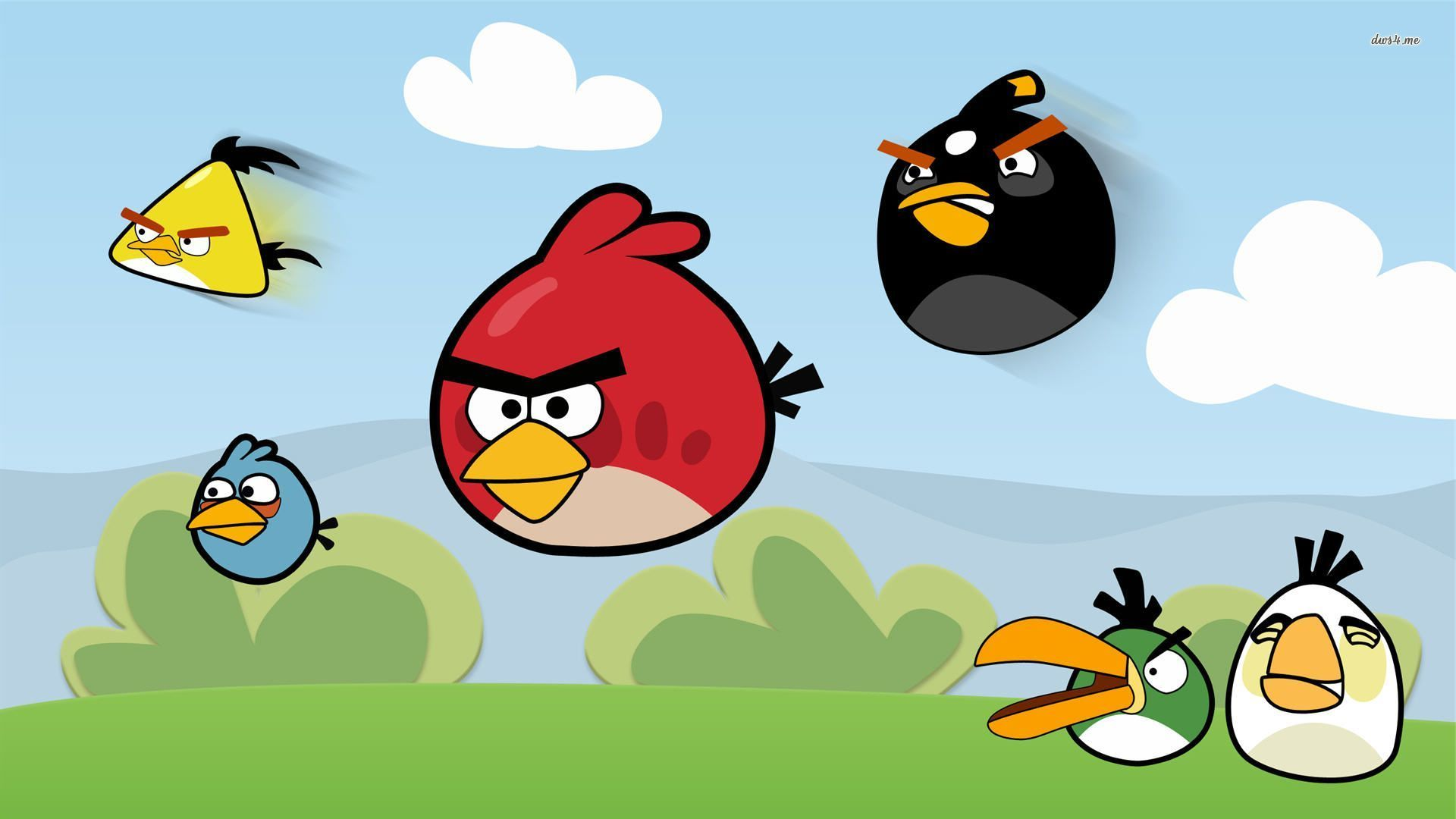 Angry Birds Wallpapers and iPhone Wallpapers   Angry Birds Games 1920x1080