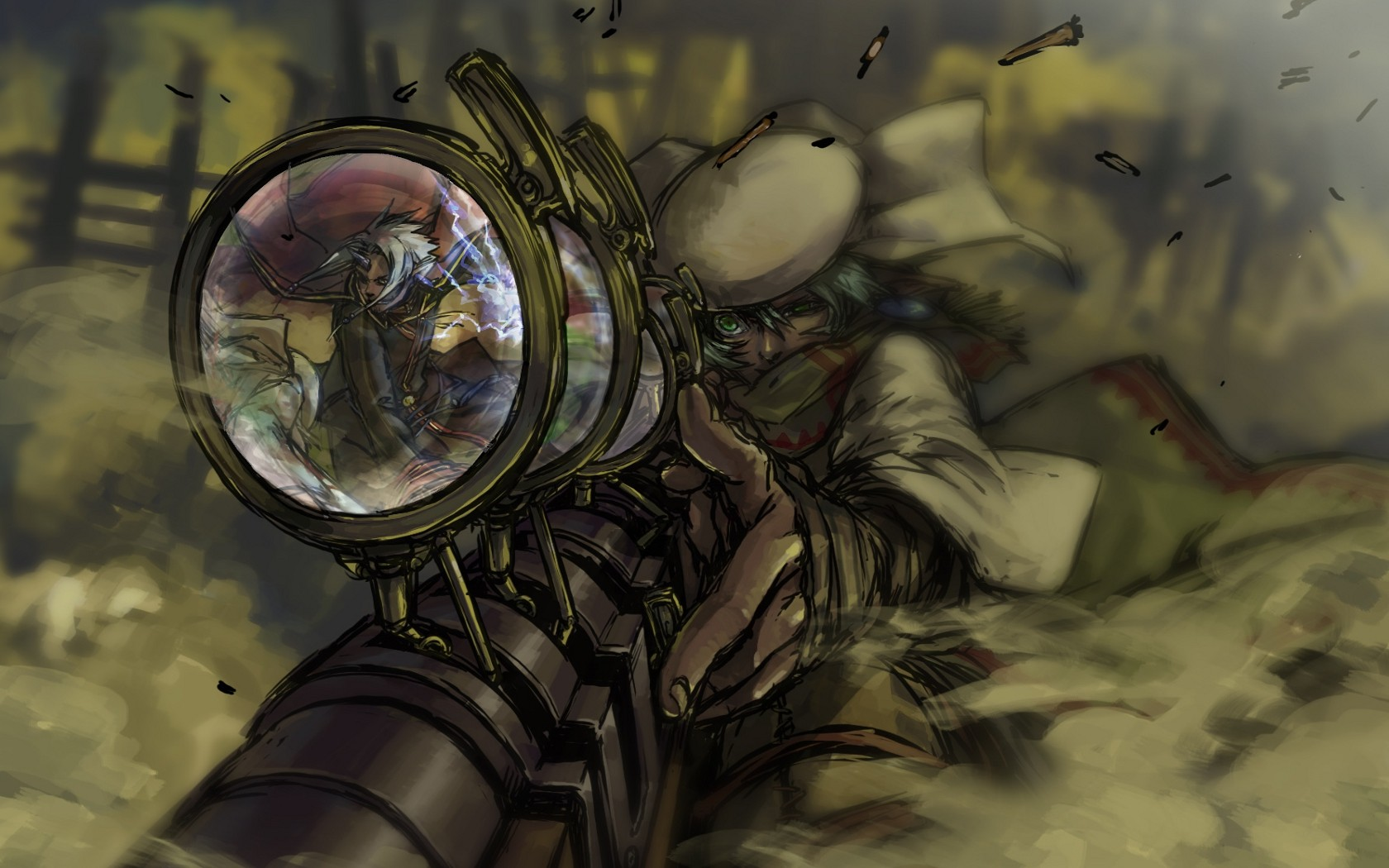 Sniper Steam Punk Wallpapers 1680x1050