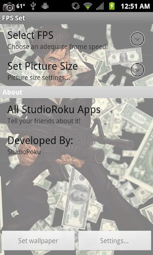 View Bigger Scarface Money Live Wallpaper For Android Screenshot 307x512