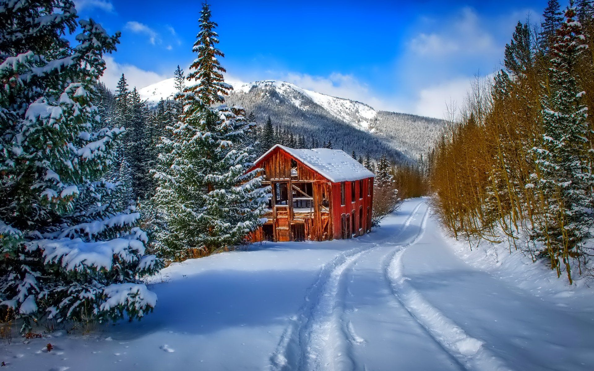 70 Cabin Mountain Winter iPhone Wallpapers   Download at WallpaperBro 1920x1200