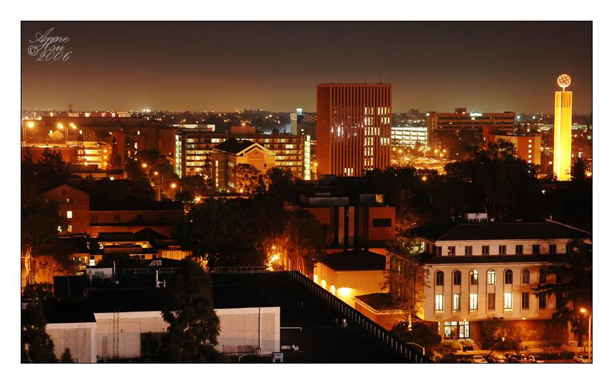 Usc Campus At Night USC Campus Wallpaper -...