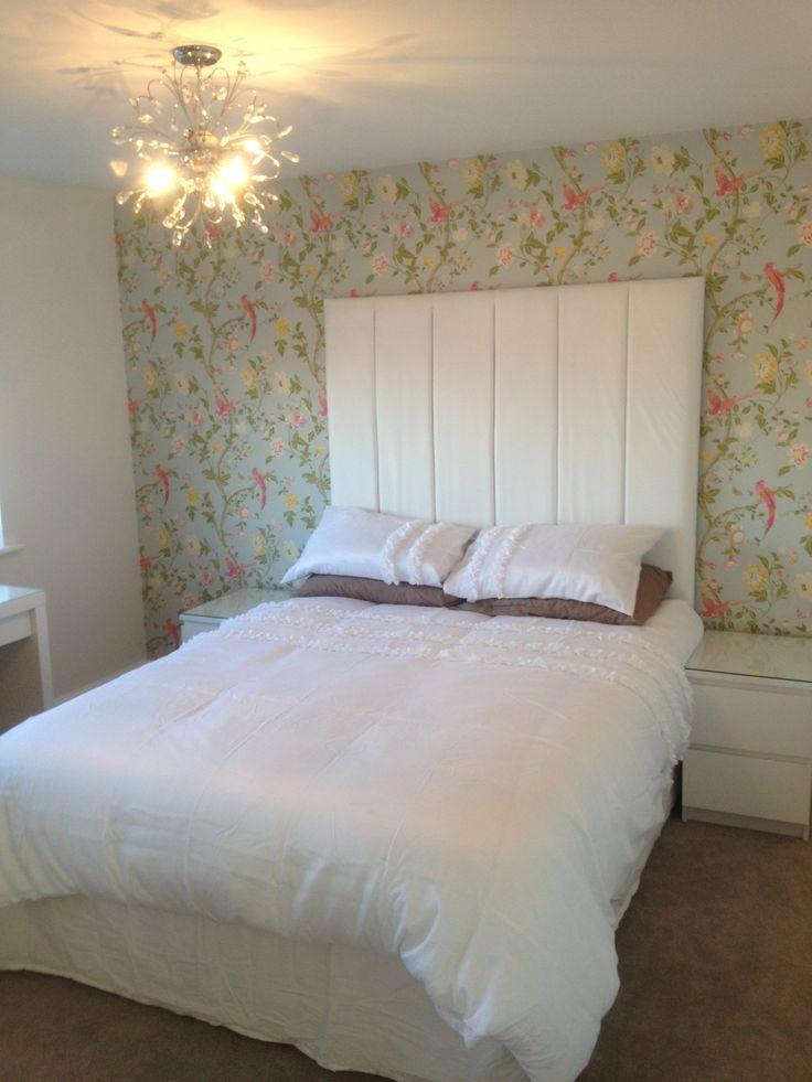 Bedroom Wallpaper Duck Egg