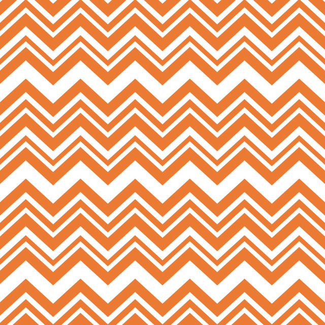 Ziggy   Orange Wall Mural   Contemporary   Wallpaper   by Murals Your 640x640