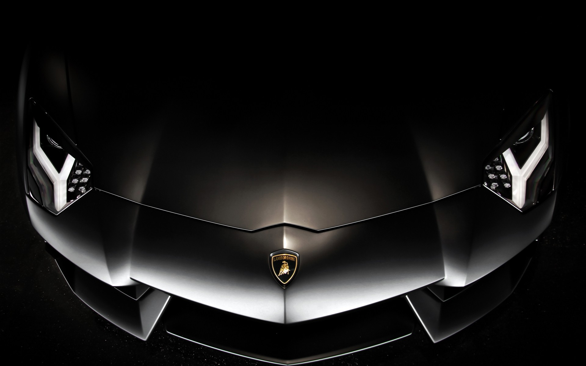 wallpaperstocknetblack lamborghini aventador bonnet wallpapers 33586 1920x1200