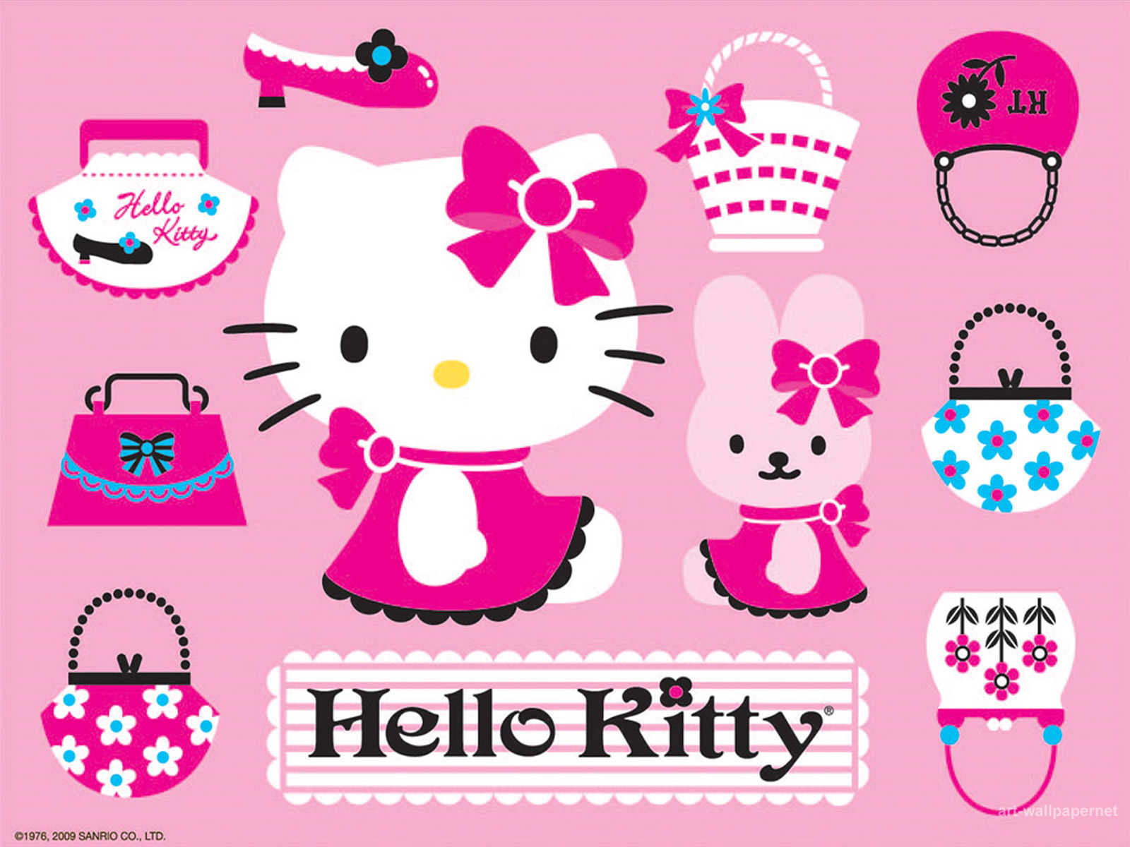 78 ] Hello Kitty Wallpaper For Puter On WallpaperSafari