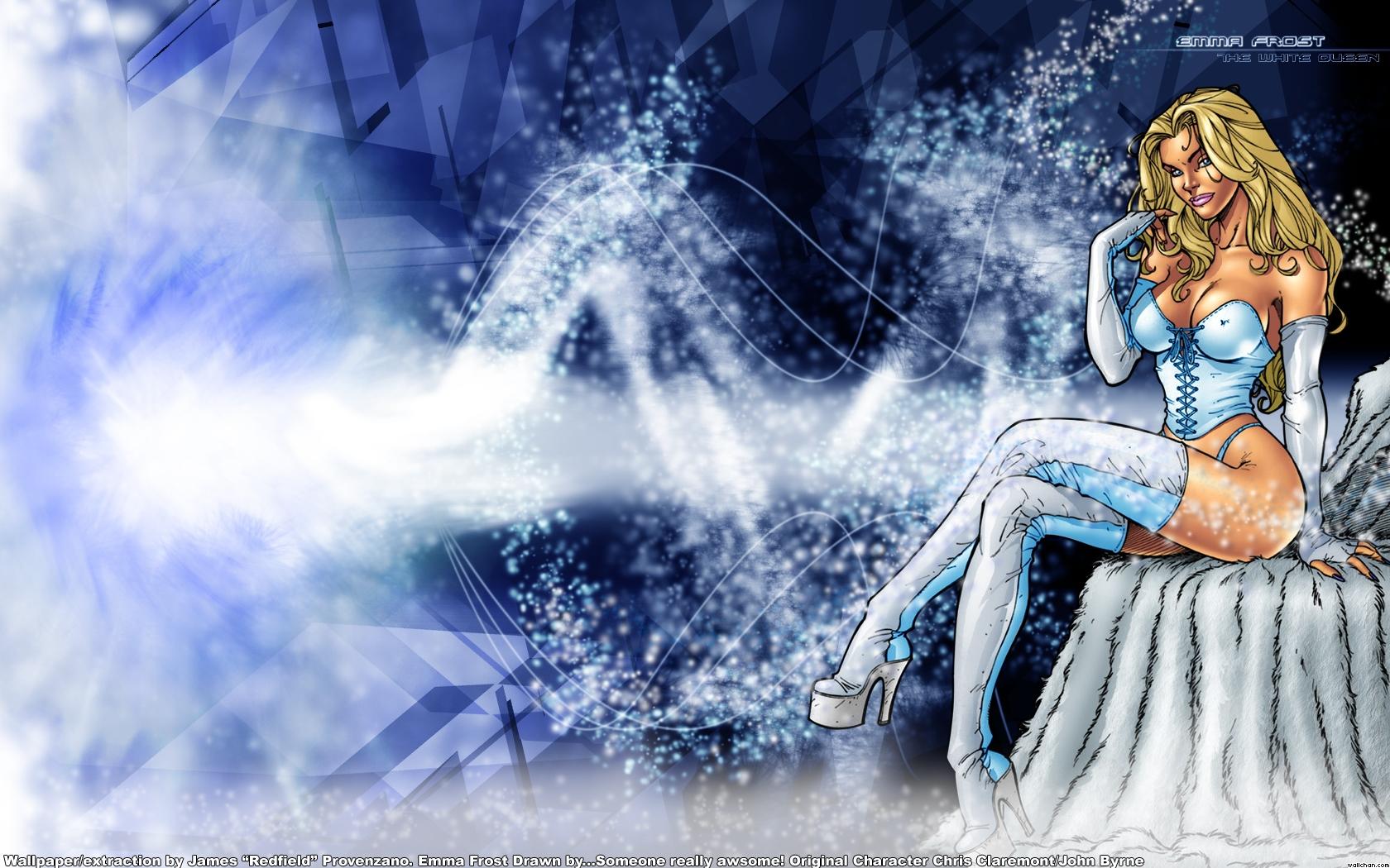 Emma Frost wallpapers   X Men Wallpaper 31537486 1680x1050
