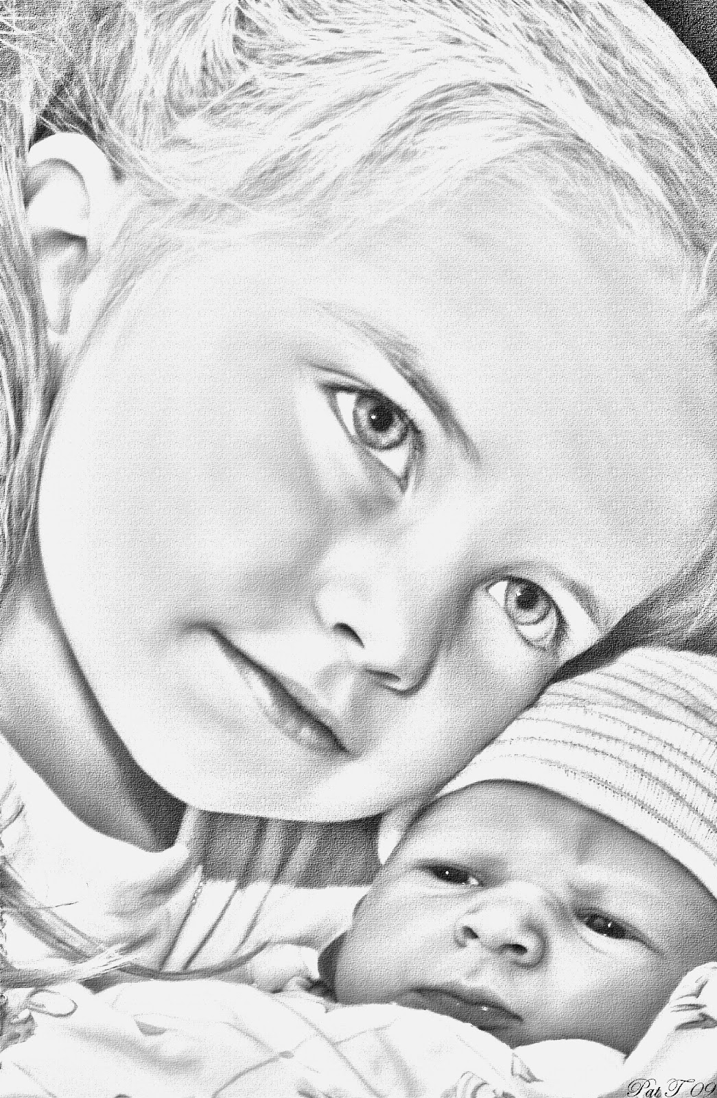 Pencil sketches wallpaper baby pencil sketch images 1045x1600
