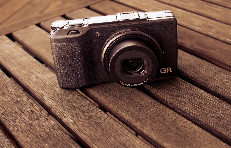 Wallpaper background camera Ricoh GRII images for desktop 1332x850