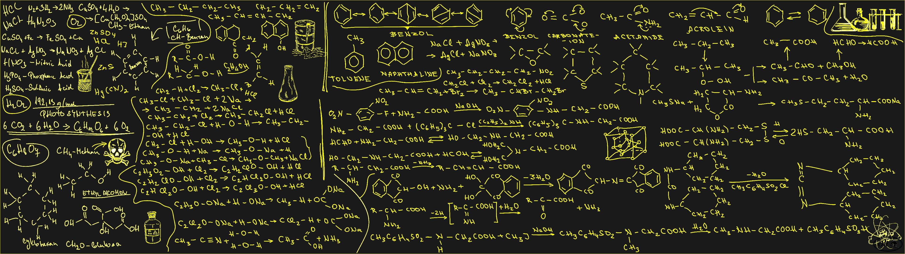 dual monitor screen chalk craie tableau board calcul equation A 3840x1080