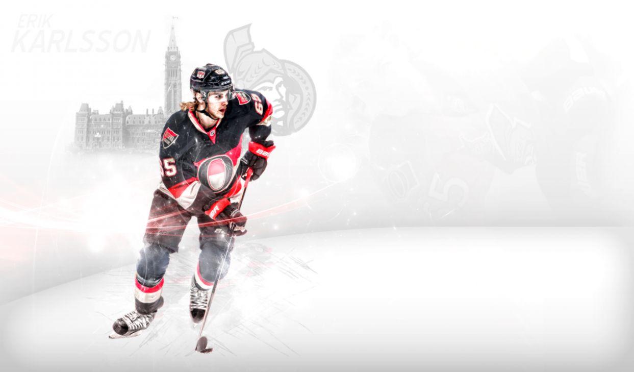 Erik Karlsson Ottawa Senators Hd Desktop Joss Wallpapers 1243x729