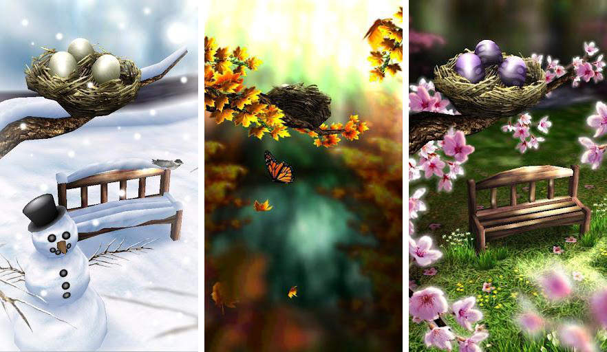 in this epic HD wallpaper for your Android smartphone Season Zen HD 882x512