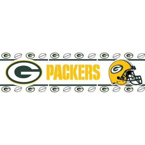 Green Bay Packers Kids Wallpaper Border Sports Outdoors 500x500