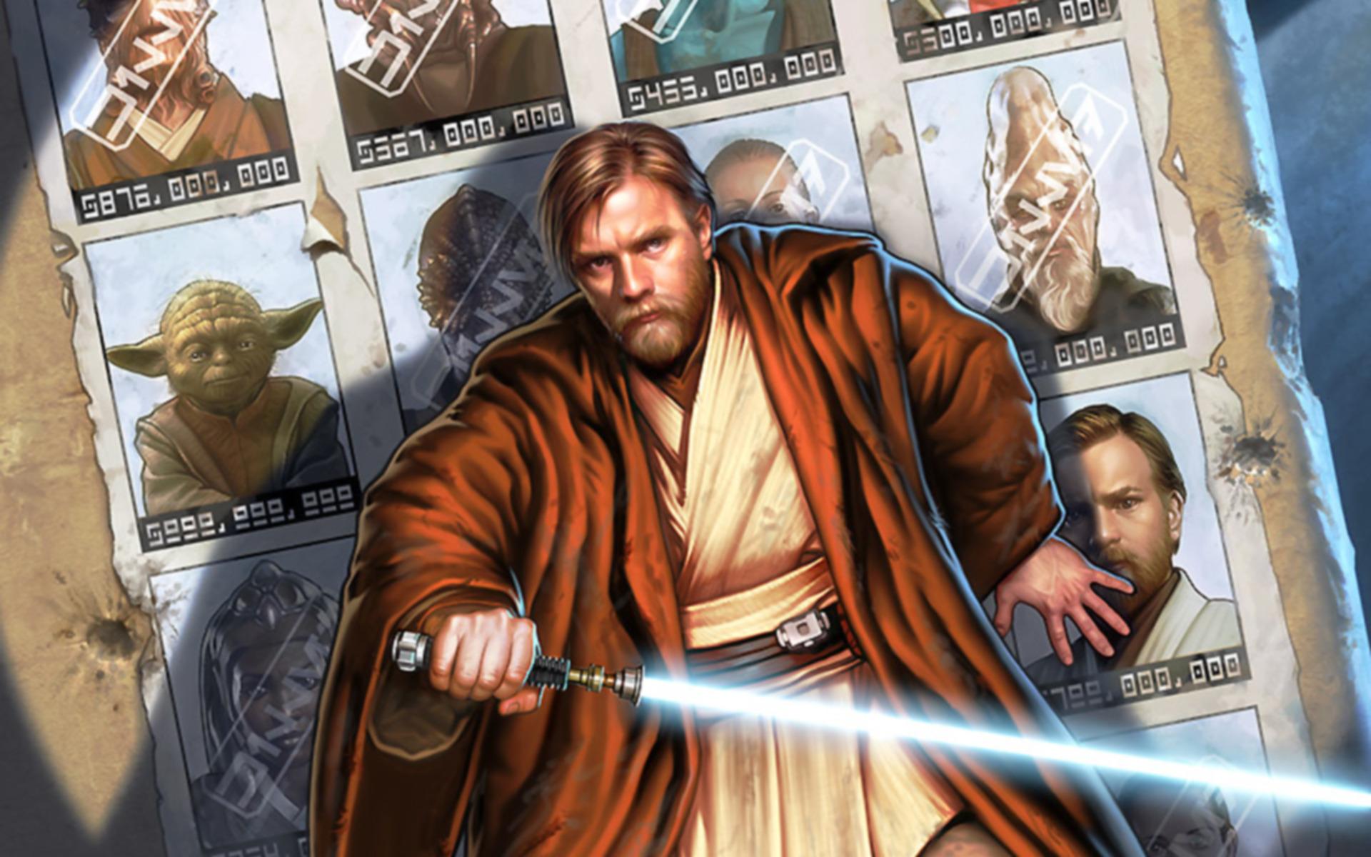 Obi Wan Kenobi   Star Wars Wallpaper 5570 1920x1200