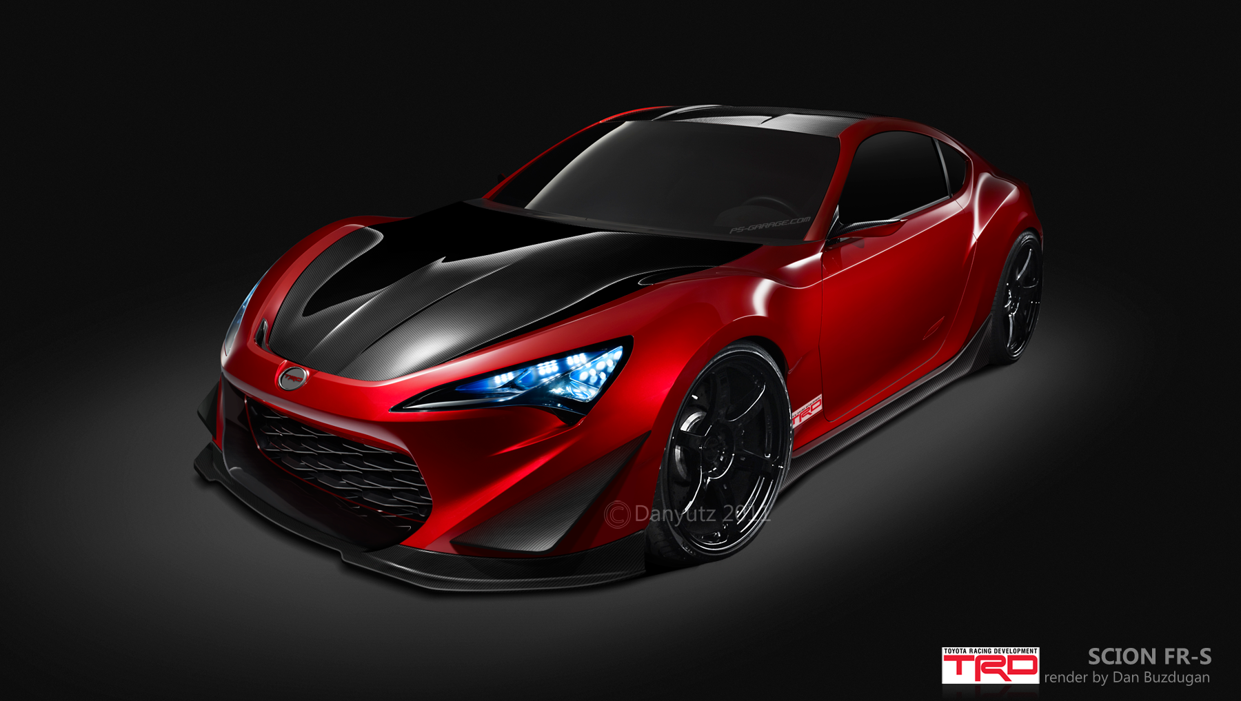 TRD Scion FR S by Danyutz 1800x1017