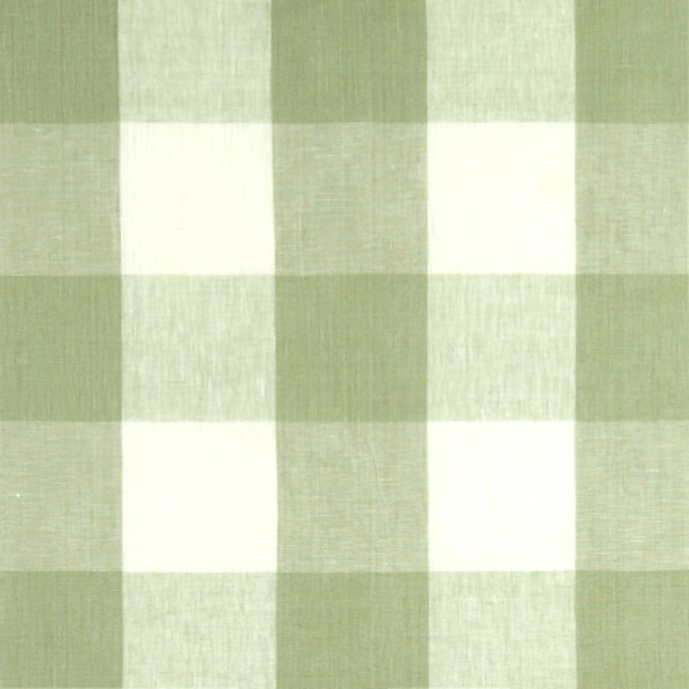 Buffalo Check Fabric in Sage 1000x1000
