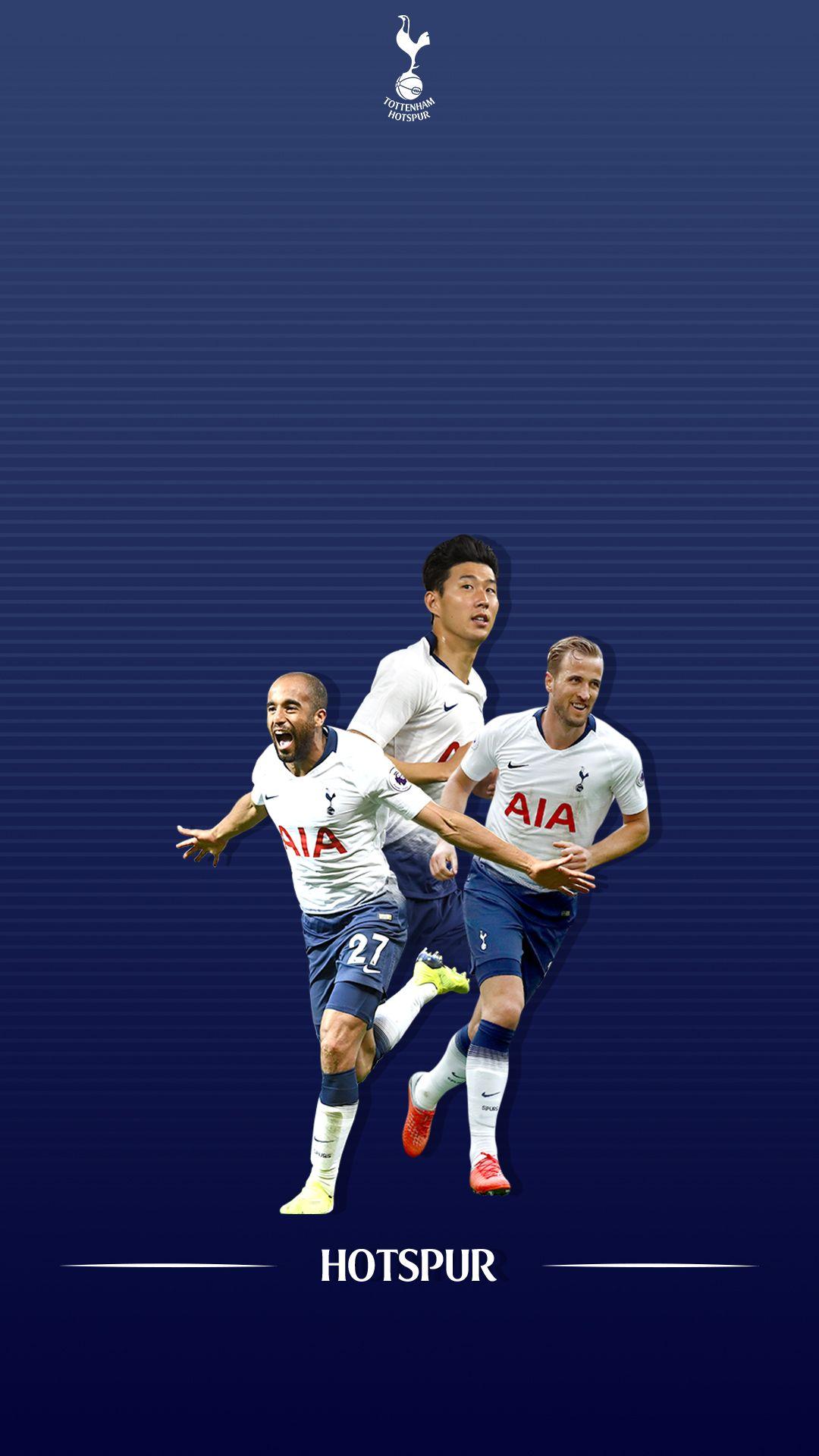 Tottenham Hotspur FC Football Harry Kane Son Heung min Futebol 1080x1920