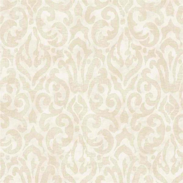 Beige White Emerson QE14004 Wallpaper   Traditional Wallpaper 600x600