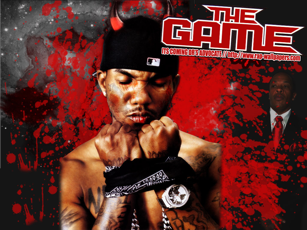 The Game   The Game Rapper Wallpaper 3619010 1024x768