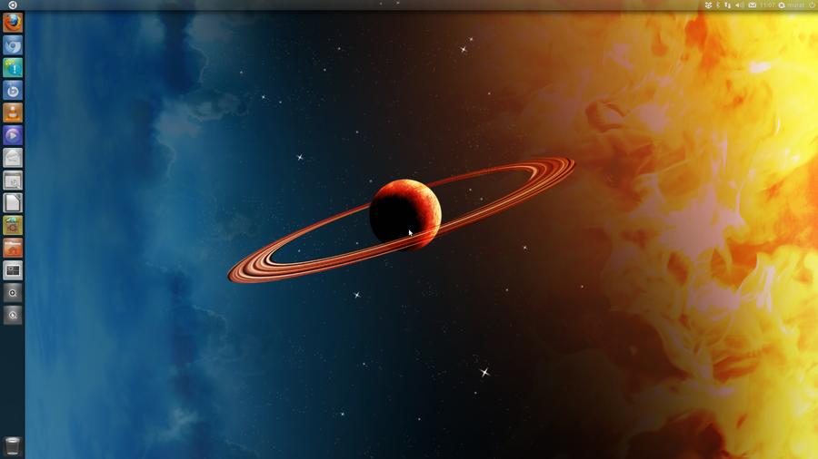 My Ubuntu Desktop Wallpaper 2 by qitarist 900x506