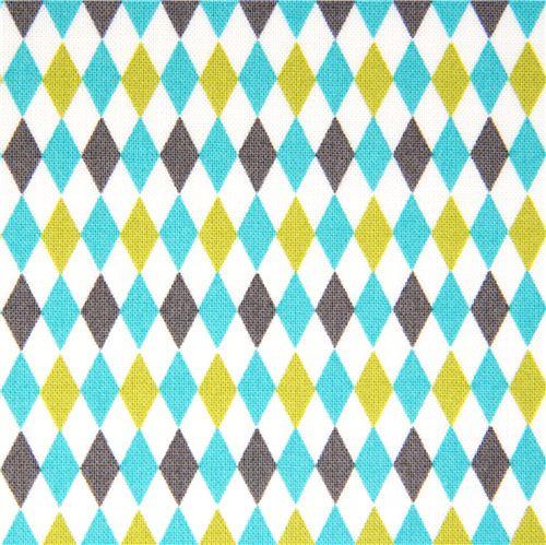 Harlequin Pattern Fabric 500x499