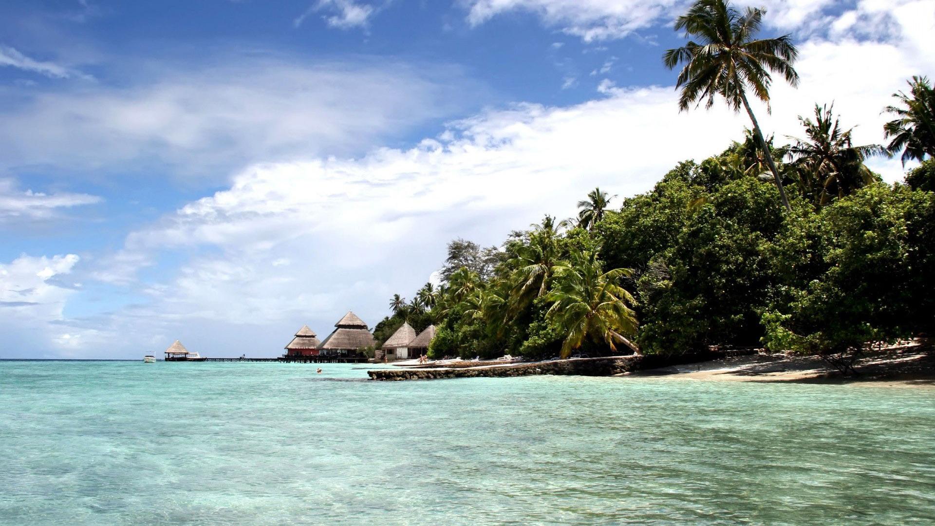 Tropical island wallpaper 10130 1728x1080
